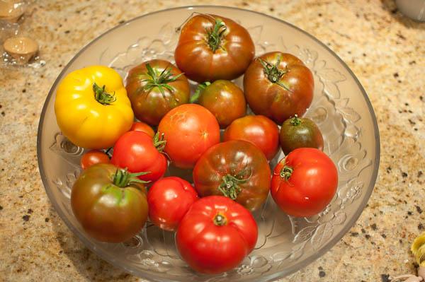 Central Texas (Austin) Tomato Harvest
